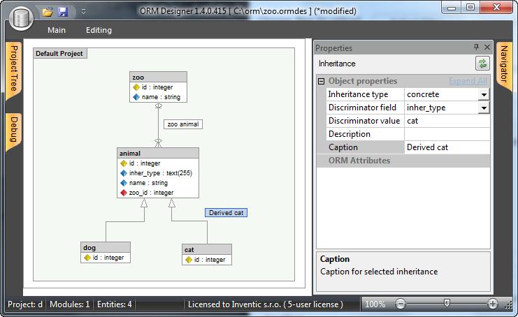 Orm Designer In Visual Studio